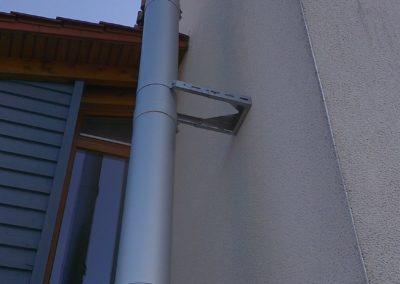 Foto: Außenschornstein | Edelstahl | Gebürstet