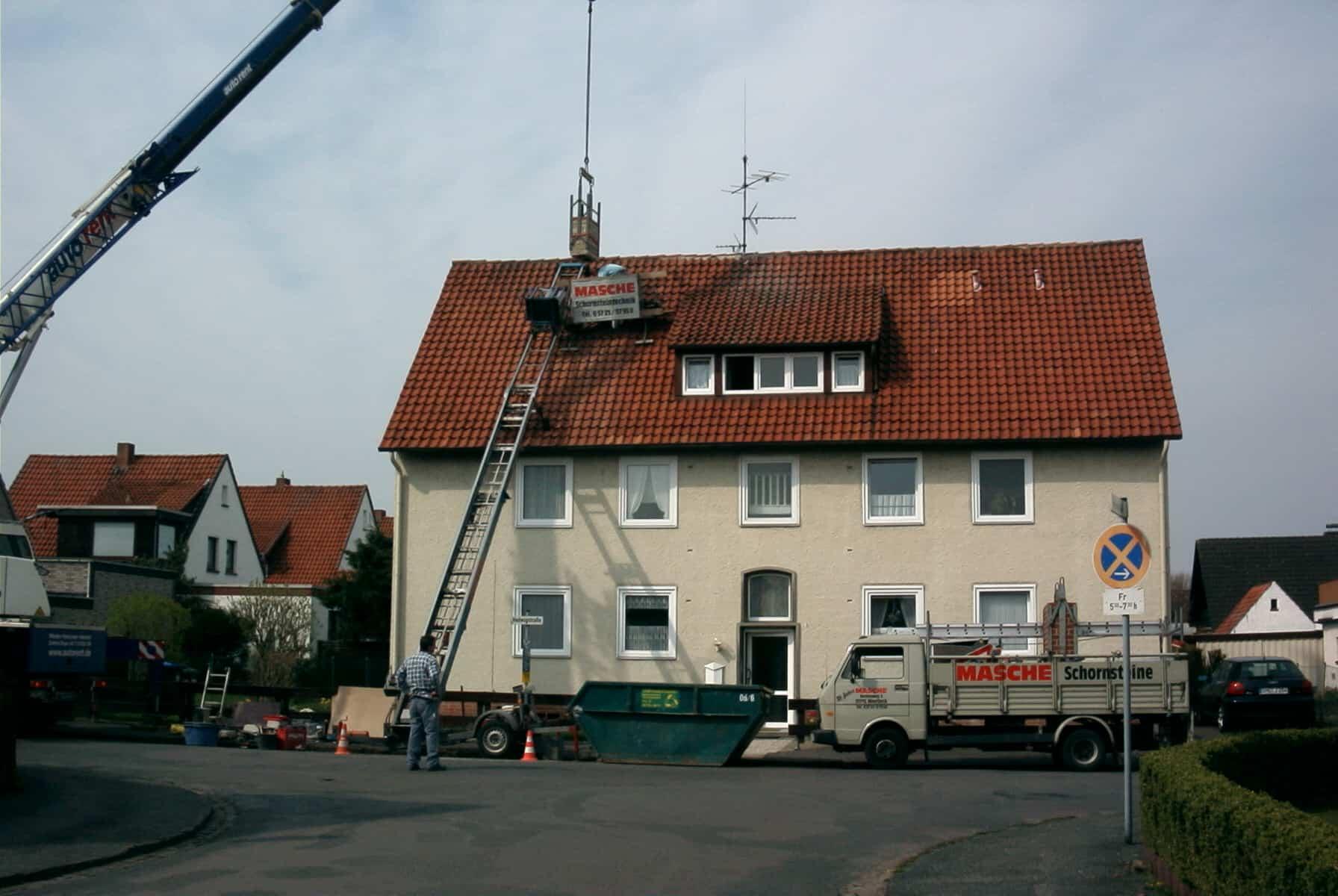 Foto: Schornsteinkopf | Aufbau