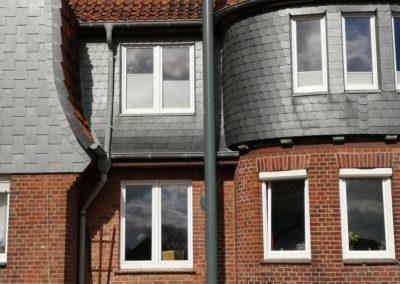 Foto: Außenschornstein | Edelstahl | Farbbeschichtung